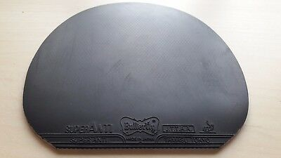 Used Table Tennis Rubber - Butterfly Super Anti 1.5mm Black W150 x H156