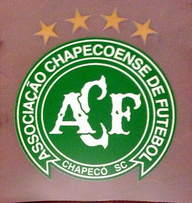 CHAPECOENSE Football Team Green Colour Honour Tribute CREST IRON ON Badge Patch