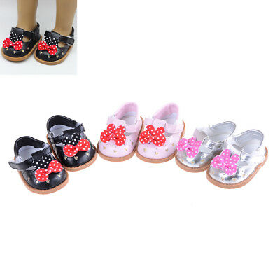 """18"""" American Girl doll shoes 43cm Baby Born Doll Accessories Shoes EV"""