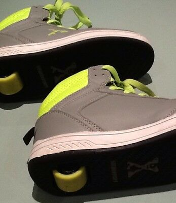 Sidewalk Sports Skate Roller Shoes Size 6 Fluro Green