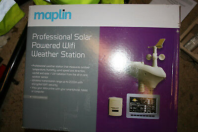 Maplin Professional WiFi weather station *****now sold*****