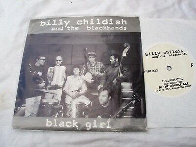 "Billy CHILDISH & BLACKHANDS Black Girl 7"" SFTRI 222..Sympathy Record Industry NM"