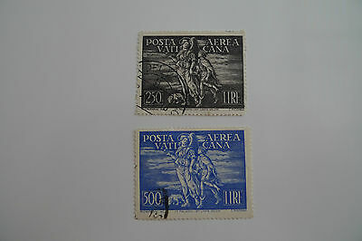 Vatican City Set Scott Numbers C 16 And 17 Used