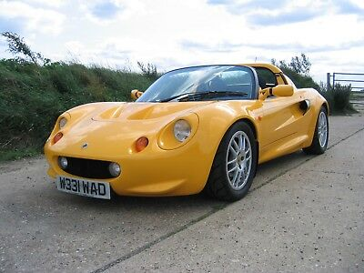 Lotus Elise S1 - Mustard Yellow, 25200 Miles, Original Spec, Low Owners, Fsh