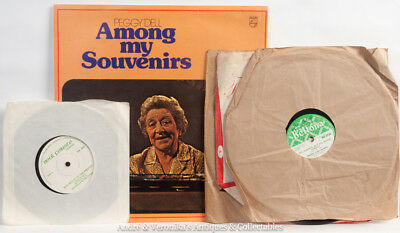 Irish Trad Music LP Peggy Dell Among My Souvenirs 3 Bridie Gallagher 78 Records