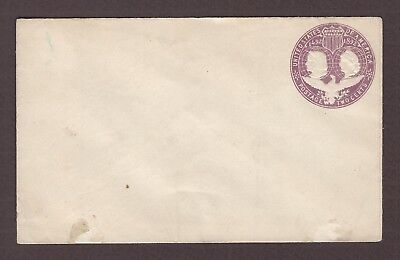 mjstampshobby 1893 US Vintage Cover Unused (Lot4844)
