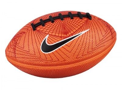 Nike Spin American Football Mini Orange Ball Soccer Play Kick Official Product