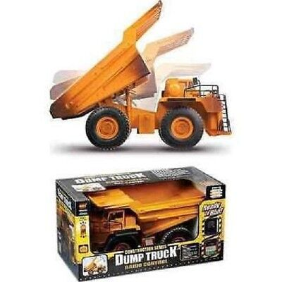 Radio Controlled RC Construction Dump Truck (real Tipping Action) Brand NEW