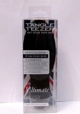 Tangle Teezer Ultimate Professional Detangling Hairbrush - Black Grey