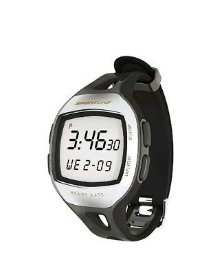 Sportline Fitness S12 Heart Rate Monitor and Pedometer SB1064BK