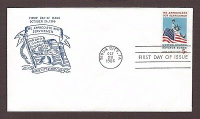 mjstampshobby 1966 US Sioux City Stamp Club FDC MNH (Lot4952)