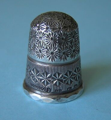 1900 Charles Horner Solid Silver Thimble Hallmarked Chester, Rd210800