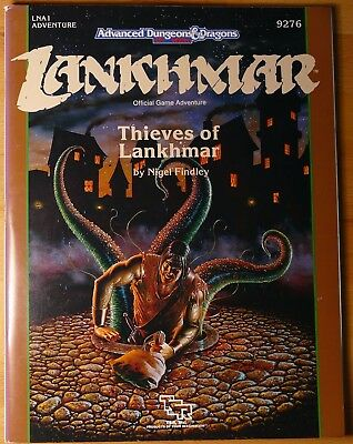 AD&D Lankhmar - Thieves of Lankhmar LNA1 TSR 9276