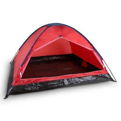 4 Man Tent Camping Trekking Hiking Festival Fun Ground Sheet Included + Bag