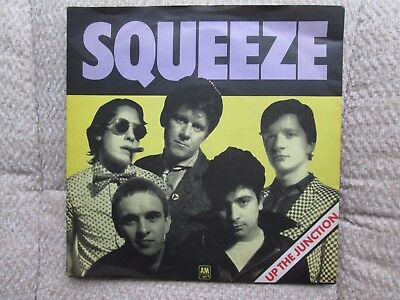 """Squeeze - Up the Junction - 7""""vinyl coloured single with picture sleeve"""