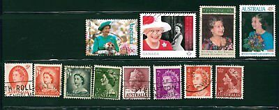 Queen Elizabeth stamps Nice Collection!