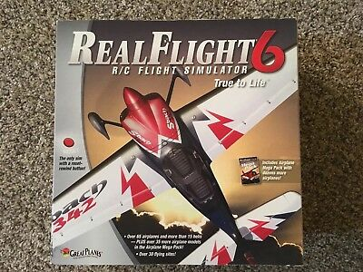 Great Planes Realflight 6 (G6) Simulator With Controller