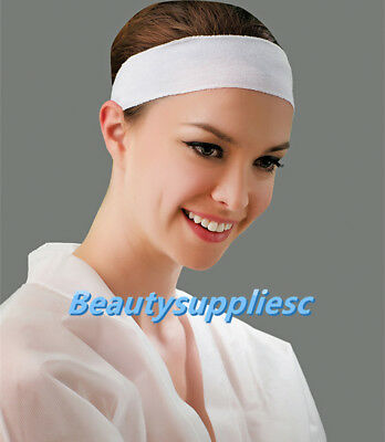 Disposable Stretchable  Facial Spa Headband 48 pcs