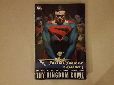 JUSTICE SOCIETY OF AMERICA THY KINGDOM COME DC Comics Geoff Johns  Free Shipping