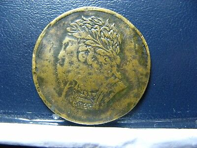 LC-60D2 BH-7 1820 token Lower Bas Canada Bust and Harp Breton 1012