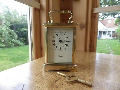 L Epee Carriage Clock In Amazing Condition Just Serviced retailed By Worcester