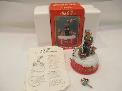"""Christmas Coca Cola """"I'd Like To Teach The World To Sing"""" Lights-Up/Play Music"""
