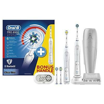 (TG. 2 Handstücke) Oral-B PRO 6500 + Bonus Handle Electric Toothbrush - electri
