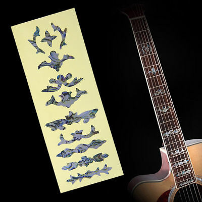Electric Guitar Bass Acoustic Inlay Sticker Fretboard Marker Fret Decal Decor
