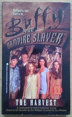 The Harvest by Richie Tankersley Cusick Buffy The Vampire Slayer paperback book