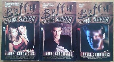The Angel Chronicles Vol. 1, 2 & 3 Buffy The Vampire Slayer paperback books