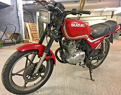 1994 Suzuki GS125, Classic Barn Find Project, 23119 Miles For Spares Or Restore