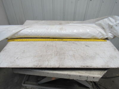 "1-Ply White Smooth Top Conveyor Endless 3600mm x 1400mm  X 0.065""1.35mm"