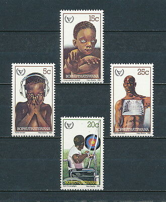 Bophuthatswana 68-71 MNH,Year of the Disabled, 1981