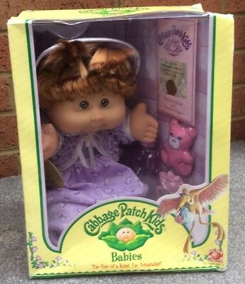 VINTAGE CABBAGE PATCH KIDS BABY DOLL March 12 Madeleine Athena Boxed 2005 New