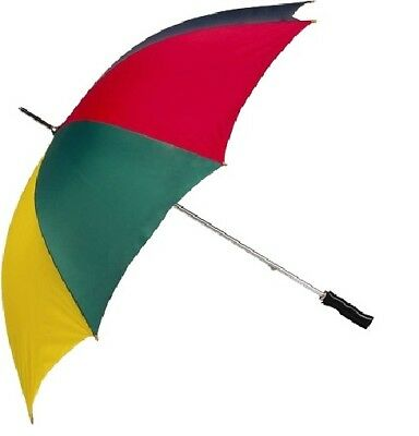 Large Golf and Rain Umbrella rainbow 130cm Diameter