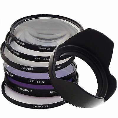 Kit Filtro UV 72mm Polarizzatore Star Close Up Skylight FLD 72 mm Paraluce