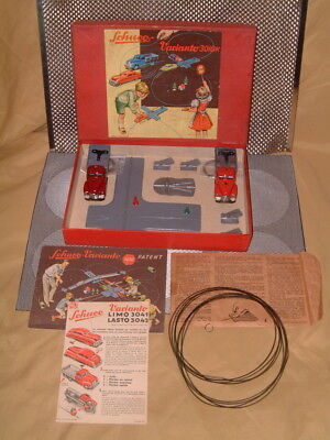 Schuco Varianto Larger 3010K Complete Set. Perfectly Working/complete W/box!