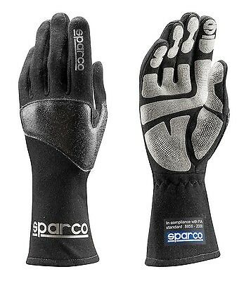 Guantes Sparco Mx-Fluo H-9 Tg12 Negro