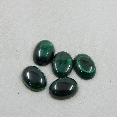 54.2 cts Congo's Natural Green Malachite Gemstone Polished Cab Lot N#133-81