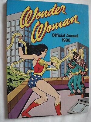 wonder woman official annual 1980