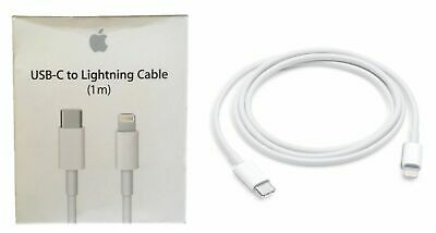 Apple USB-C to Lightning Cable 1m 3ft for iPhone iPad Macbook MQGJ2AM/A