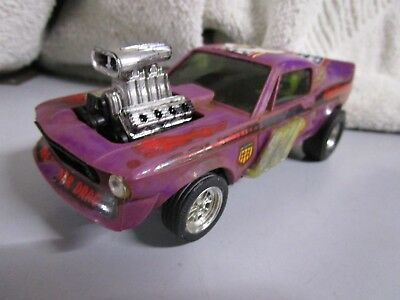 Coche de scalextric Ford Mustang Dragster ref4049 made in spain ver fotos+manual