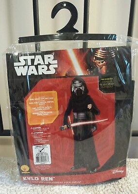 Star Wars: The Force Awakens Kylo Ren Child Halloween Costume Size Small 4-6