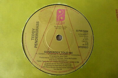 Teddy Pendergrass - The More I Get The More I Want 1977 UK 45 PHILADELPHIA DEMO