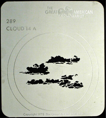 """Cloud 14"" Gobo template 2 pattern set - GAM 289, 290"
