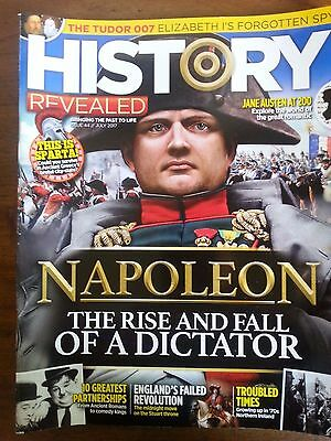 History Revealed magazine recent backnumber issue #44, July 2017
