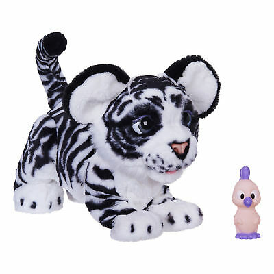 Ivory White FurReal Roarin' Tyler The Playful Tiger Pet * Fur Real Roaring Cat