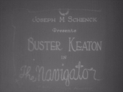 8mm Film The Navigator Buster keaton 1200ft B/W Silent Standard 8