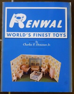 "RENWAL Full-Sized Book:  ""WORLD'S FINEST TOYS"" by Charles F. Donovan, Jr. (1999)"