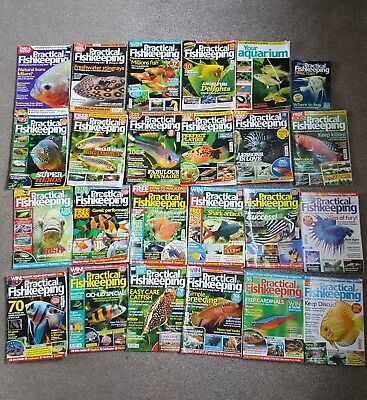 Practical Fishkeeping Magazine (Job Lot 22 issues + Extras)